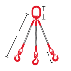 Multi 3-Legged Bridle