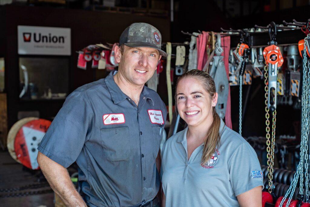 mid-america rigging professional team